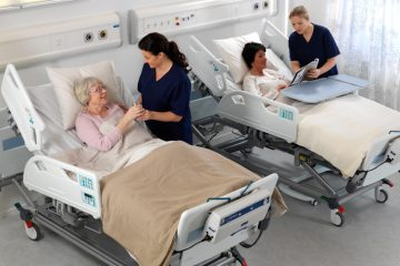 Arjo-Huntleigh-hospital-bed