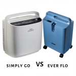 Oxygen Concentrator Untuk Traveling Simply Go & Ever Flo