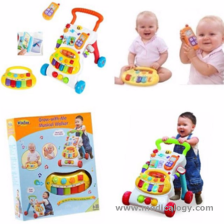 harga Alat belajar Jalan Bayi WinFun Win Fun Musical Bayi Activity Walker