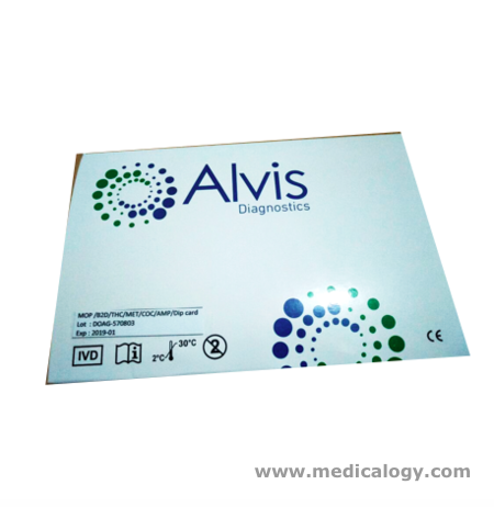 jual Alvis Rapid Test Malaria Pf/Pv Ag WB Whole Blood per Box isi 25T