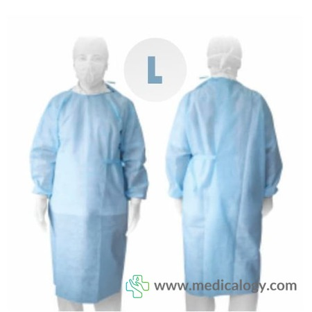 harga Baju Operasi Surgical Gown NonWoven Size L OneMed