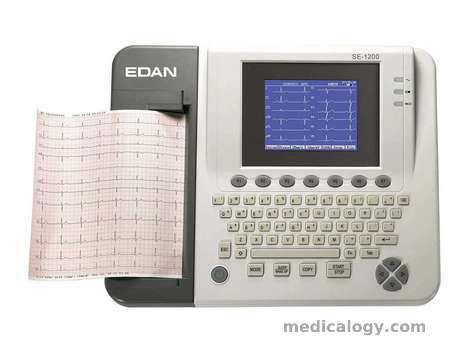 beli Edan ECG SE 1200 (12 Channel + Keyboard)