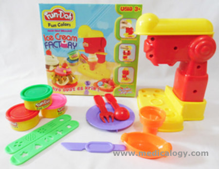 harga Mainan Lilin Fun Doh Ice Cream Factory