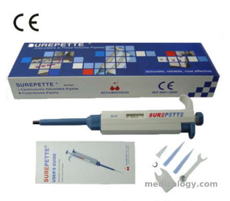 harga Mikropipet Accubiotech Fixed Volume 10 µl