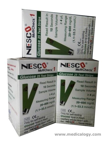 beli Nesco Strip Cek Gula Darah / Strip Glucose Nesco