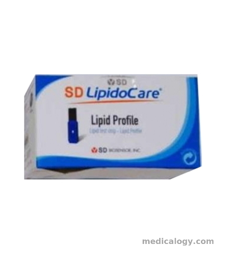 harga SD Lipidocare Lipid Profile Test strip (10T X1)
