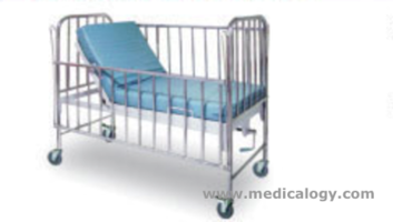 jual 1 Crank Manual pediatric Bed Patient 6300