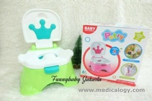 jual 3 In 1 Potty Seat Training/Pispot Bayi/Training Toilet