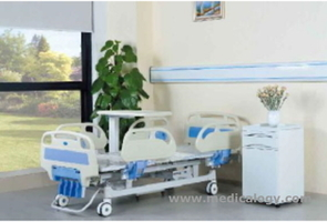 jual 5 Function Manual Hospital Bed AG-BMS001C Aegean
