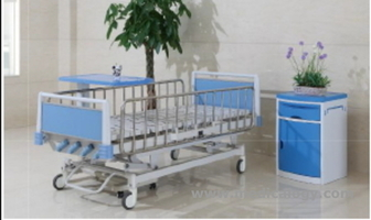 jual 5-Function Manual Hospital Bed AG-CB013 Aegean