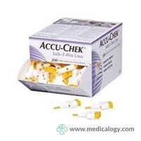 jual Accu Chek Lancet Super Soft Disposable Roche Ecer per pcs