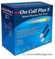 jual Acon On Call Strip Alat Cek Gula Darah 25T