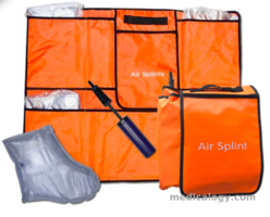 jual Air Splint 6 Size with Hand Pump and Carrying Bag