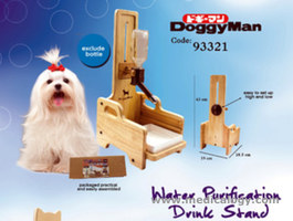 jual Alat Minum/Doggyman Eco Drink Bottle Stand  R-93332