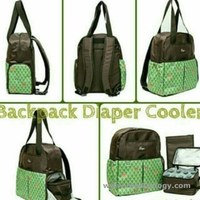 jual Allerga Backpack Diaper Bag New