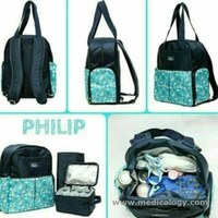 jual Allerga Philip Cooler Diaper Backpack Bag New