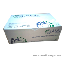 jual Alvis Rapid Test HIV Tri Line Virus 1/2 Antibody Serum/Plasma per Box isi 25T