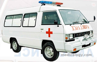 jual Ambulance Medium Size Cabin Mitsubishi L300