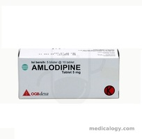 jual Amlodipine Tablet 5 mg per Box