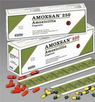 jual Amoxan Tablet 500 mg per Box isi 100