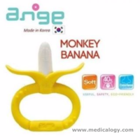 jual ANGE Monkey Banana Teether Bayi Brush with Clip Holder Gigitan Bayi