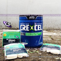 jual Ans Performance Crexcel 40X Serving Free Shaker Ans Creatine Freeamino