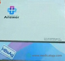 jual ANSWER HBsAg Strip 50T