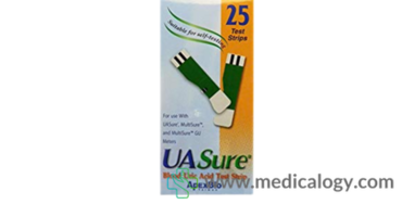 Apex Bio UA Sure Strip Alat Cek Asam Urat 25T