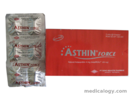 jual Asthin Force Tablet per Box