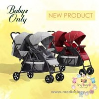 jual Baby's Only T2 Tandem Stroller Lightweight Double Twin Baby KemBar