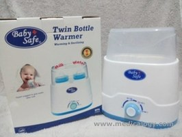 jual Baby Safe Twin Bottle Warmer