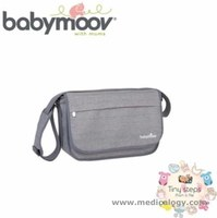 jual Babymoov Messenger Bag Smokey