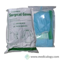 jual Baju Operasi Surgical Gown NonWoven Size M OneMed