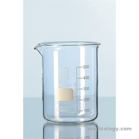 jual Beaker Glass Low Form 250 ml Duran 2110636 per pack 3