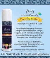 jual Beauty Barn Aromatherapy Breathe In Rub Cough Cold Relief Chest Rub