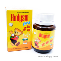 jual Biolysin Kid Orange per pack isi 3 Botol