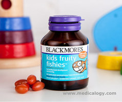 jual Blackmores Kids Fruity Fishies DHA Suplemen Gizi 30Capsul