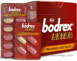 jual Bodrex Extra Tablet per Box isi 100 Tablet
