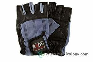 jual Body Sculpture Leather Weight Training Gloves