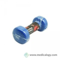 jual Body Sculpture Neoprene Dumbbell 2 kg Blue