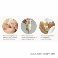 jual Botol ASI  Susu MEDELA Calma Nipple milk Bottle Dot Anti bingung puting