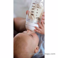 jual Botol Susu Tommee Tippee Express Go Breast Milk Pouch Bottle 180ml
