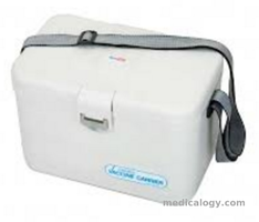 jual Box Vaksin 8 Liter HTTL 1080 with LCD Thermometer and 6 pcs Ice Gel