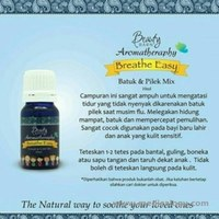 jual Breathe Easy (Batuk Pilek Mix) Aromatheraphy Beauty Barn