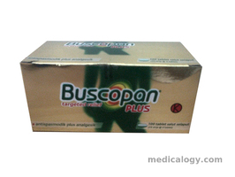 jual Buscopan Plus per Box isi 100 Tablet