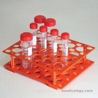 jual Centrifugation rack orange,for 50 ml,15 ml (PP) U-Real