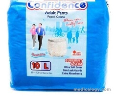 jual Confidence Popok Celana Size L Isi 10