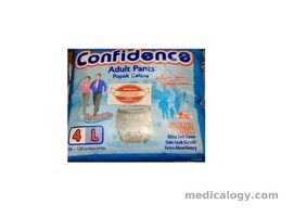 jual Confidence Popok Celana Size L Isi 4