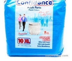 jual Confidence Popok Celana Size XL Isi 10