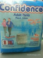 jual Confidence Popok Celana Size XL Isi 3